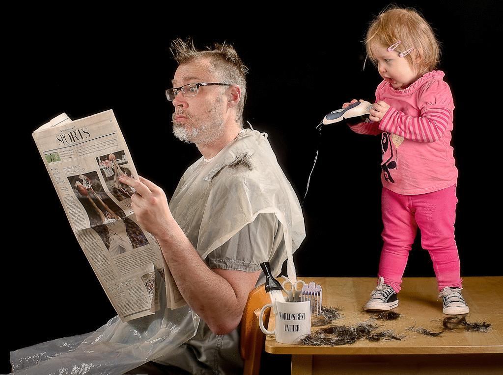 Отправить открытку, прикольные картинки отца с дочкой