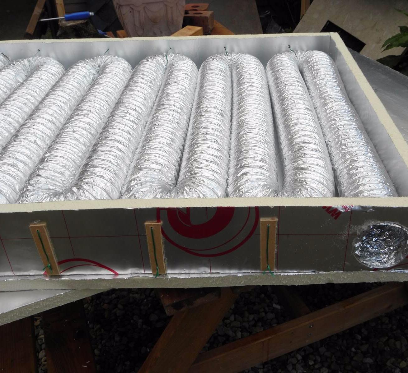 Воздушные солнечные коллекторы для отопления своими руками