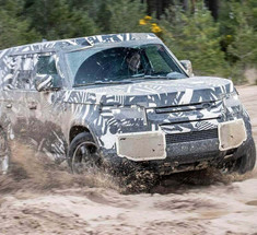 Новый Land Rover Defender получит мягкую гибридную силовую установку
