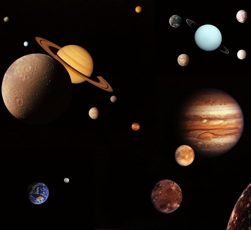 картинки про космос все планеты