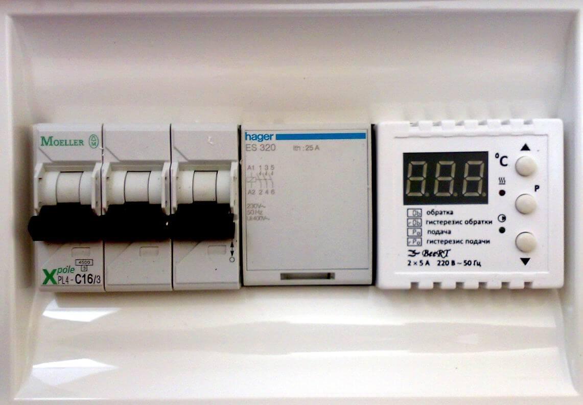 автоматика для электрического отопления