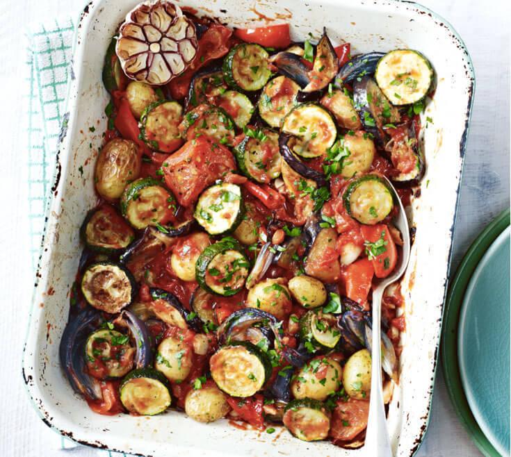 Сытные овощные блюда рецепты