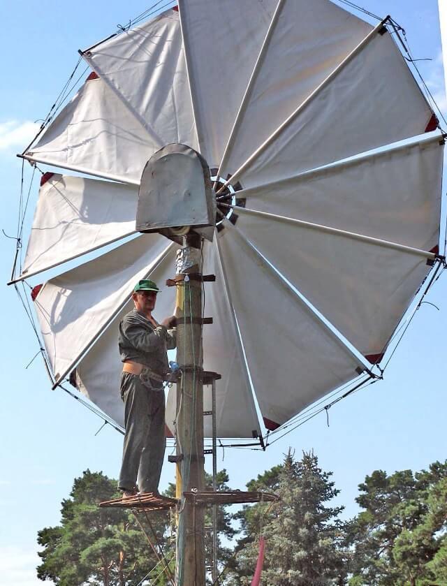 Простейшие ветрогенераторы
