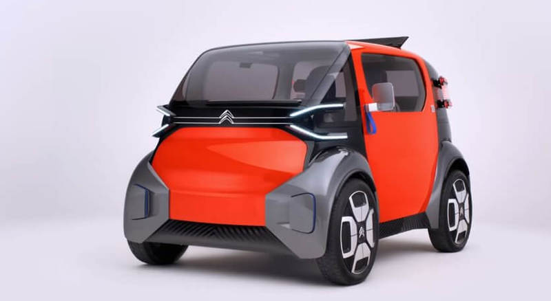 Ami One от Citroën - новый формат электромобиля